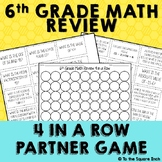 6th Grade Math Review Game