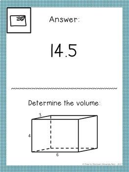 6th Grade Math Review Activity - Scavenger Hunt