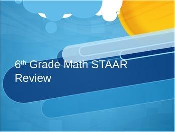 6th Grade Math STAAR Powerpoint