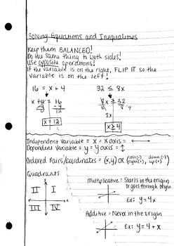 6th Grade Math STAAR Refreshers