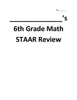 6th Grade Math STAAR Review