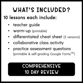 6th Grade Math TEKS Test Prep and Review