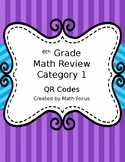 6th Grade Math STAAR Review Category 1