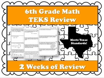 6th Grade Math STAAR and TEKS Review by Route 22 ...
