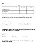 6th Grade Math Spiral Reviews Bundle E