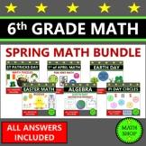 6th Grade Math Spring Math Holiday Math Seasonal Fun