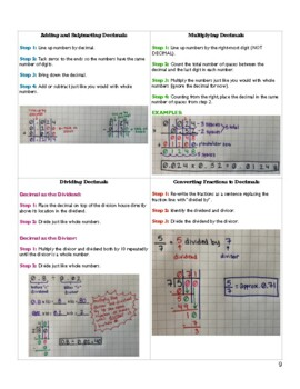"6th Grade Math Standards ""How-To's"" - Full Size Version"