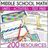 Grades 6-7 Math Resources Bundle