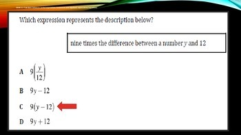 6th Grade Math TCAP Review