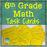 6th Grade Math Task Cards
