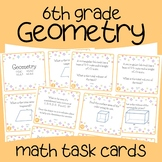 Geometry Math Task Cards (6th Grade)