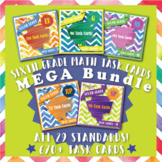 6th Grade Math Task Cards MEGA Bundle
