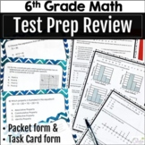 6th Grade Math Test Prep End of Year Review