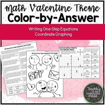 6th Grade Math Valentine's Day Color by Answer by Teaching ...