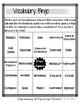 6th Grade Math Vocabulary BINGO (Expressions & Equations)