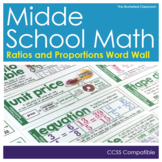 Math Word Wall Cards Free Download