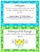 112 Sixth Grade Math Vocabulary Word Wall Display Cards
