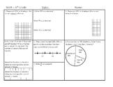 6th Grade Math Warm up - TEKS focused