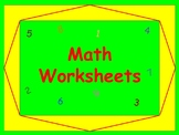 6th Grade Math Worksheets | Ratios