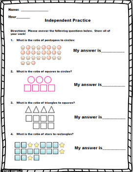 6th Grade Math Writing Ratios Lesson By Lessons For
