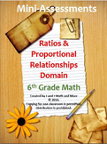 6th Grade Math:Mini-Assessments for the Ratios and Proport