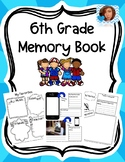 6th Grade Memory Book