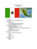 6th Grade Mexico Modified Unit
