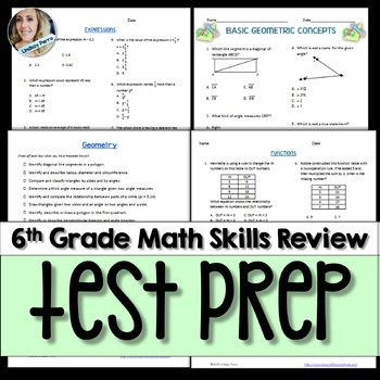 6th Grade End of Year Assessment Prep Review