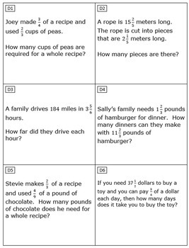 6th Grade Module 2 Task Cards - SBAC - Editable