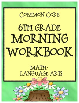 6th Grade Morning Workbook - Bell Work for Language Arts a
