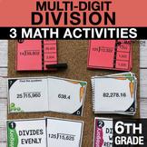 6th Grade Multi-Digit Division Activities   6th Grade Goog