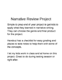 6th Grade Narrative Review Project