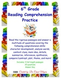 6th Grade Non-fiction Reading Comprehension Review