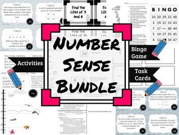 6th Grade Number Sense Bundle (6.NS)
