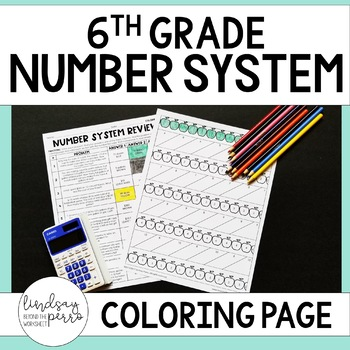 Number System Coloring Page