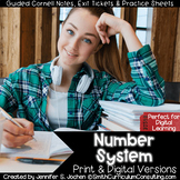 6th Grade Number System Guided Cornell Notes | Perfect for