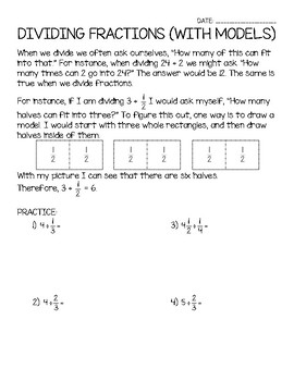 6th Grade Number Systems Unit Notes