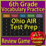 6th Grade Ohio Air Test Prep Vocabulary Practice Review Game - OST