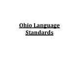 6th Grade Ohio Language Standards Posters