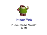 6th Grade On-Level Dolch Words – Set #10 - Special Education Resource ELA