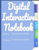 6th Grade PAP Digital Notebooks (Units 17-21)