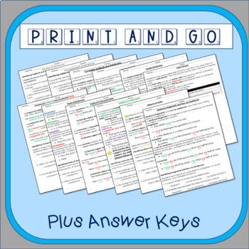 5th-6th Grades: Part 1 Sentence and Its Parts--Grammar Wired!