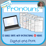 5th-6th Grades: Part 3 Pronouns--Grammar Wired!