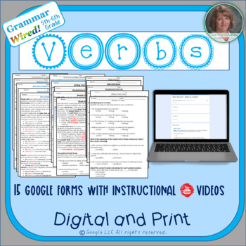 5th-6th Grade: Part 4 Verbs--Grammar Wired!