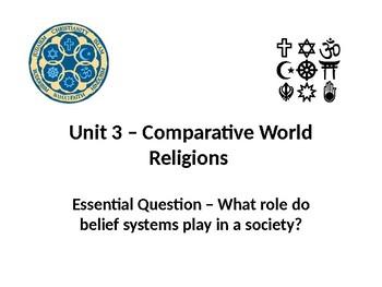 6th Grade Passport Social Studies Unit 3 World Relgions PowerPoint Presentation
