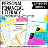 6th Grade Personal Financial Literacy Activity Bundle