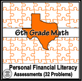 6th Grade Math TEKS Personal Financial Literacy