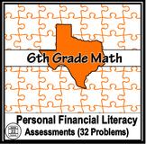 6th Grade Math TEKS Personal Financial Literacy