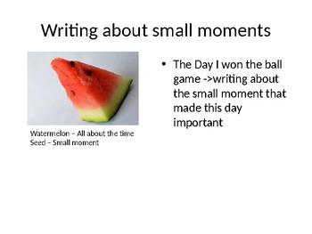 6th Grade Personal Narrative Unit