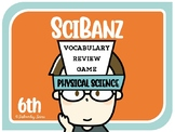 Science Games: 6th Grade Physical Science Vocabulary Review {SciBanz}